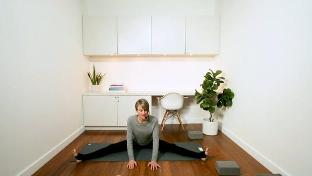 Yin Yoga for Flexibility (30 min) - w...
