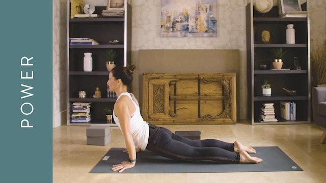 Power Yoga (30 min) — with Jasmina Egeler