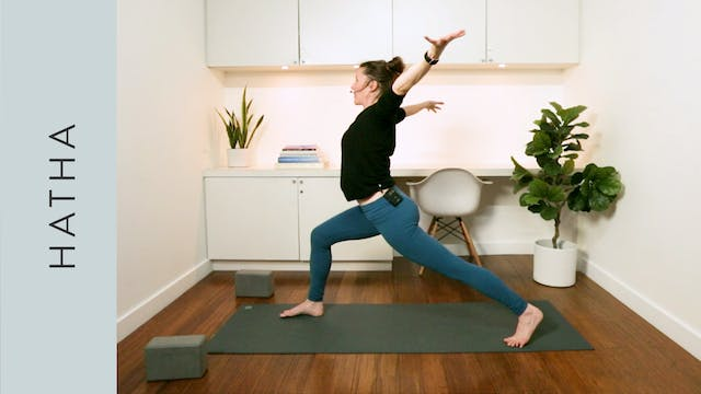 Wellbeing Hatha Yoga for Working from...