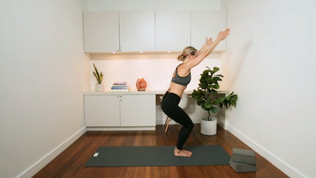 Flowing Hatha (45 min) - with Jayme B...