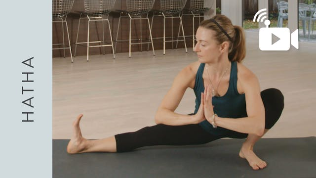 Live Replay: Hatha Yoga for Being Pre...