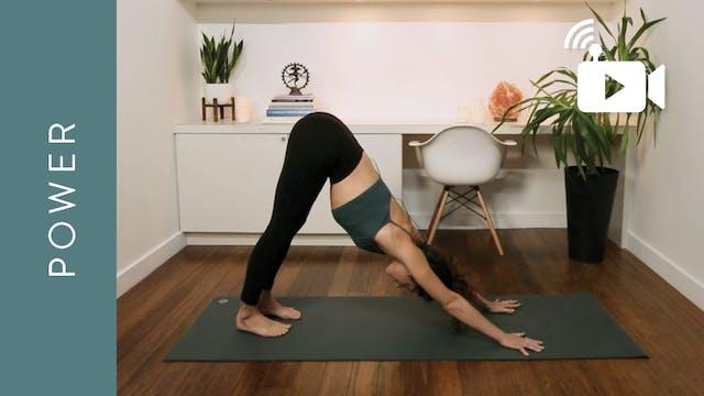 Live Replay: Power Yoga (60 min) - wi...