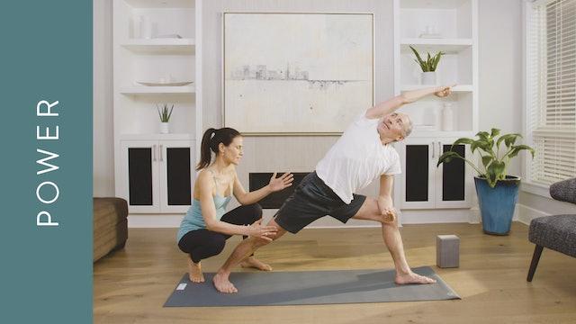 Power Yoga for all Levels (30 min) — with Jasmina Egeler