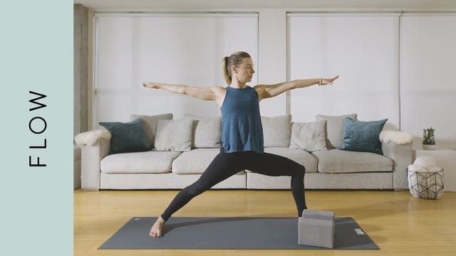 Flow Yoga: to Stretch Legs (15 min) —...