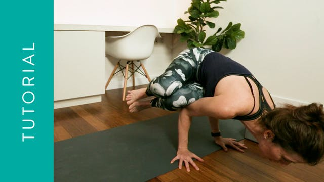 Tutorial: How to do Side Crow Pose (1...