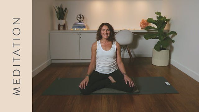 Pranayama Practice for Calming the Mind (12 min) — with Shelley Tomczyk