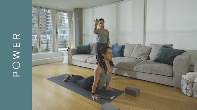 Power Yoga: with Mantra (10 min) — with Crystal Rainbow Borrelli