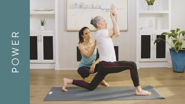 Power Yoga for Strong and Stable Shoulders (20 min) — with Jasmina Egeler