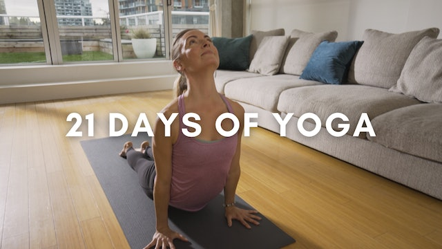 21 Days of Yoga (All Levels)