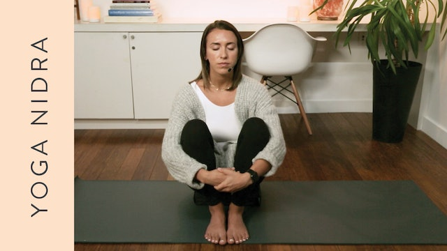 Yoga Nidra for Grief, Loss and Sadness (30 min) –with Sam Squire