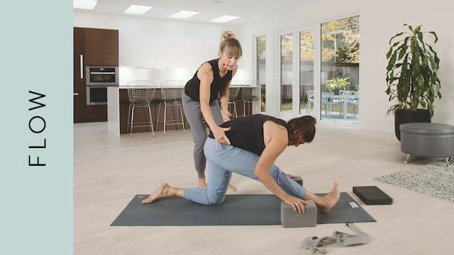 Hanuman Flow Yoga (Front Splits) (45 min) — with Cathy High