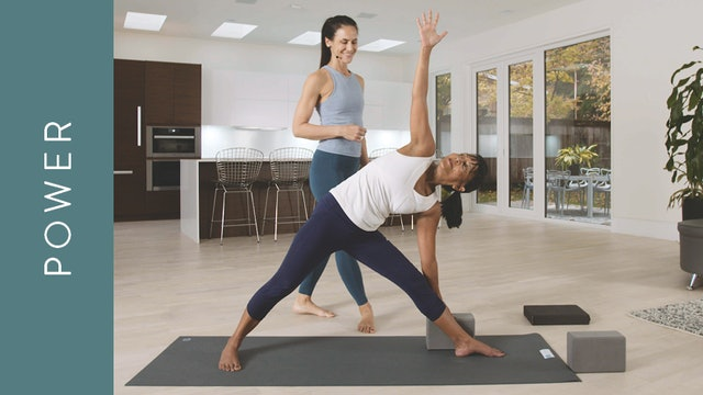 Power Yoga for Self Discipline (60 min) — with Jasmina Egeler