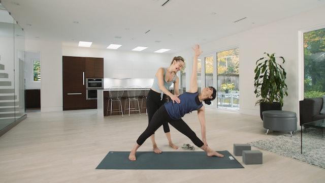 Live Stream Flow Yoga (60 min) - with Jayme Burke