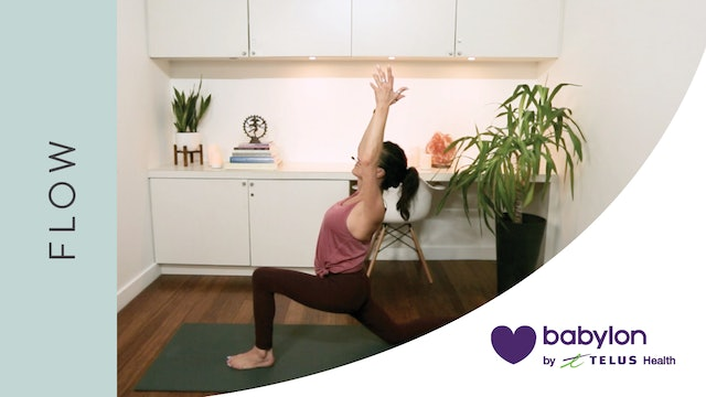 Flow Yoga for Emotional Release (17 min) — with Hillary Keegan