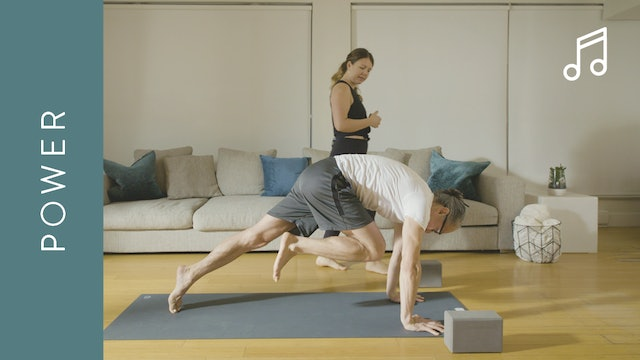 Power Yoga for a Strong Core (60 min) — with Kate Gillespie [WITH MUSIC]