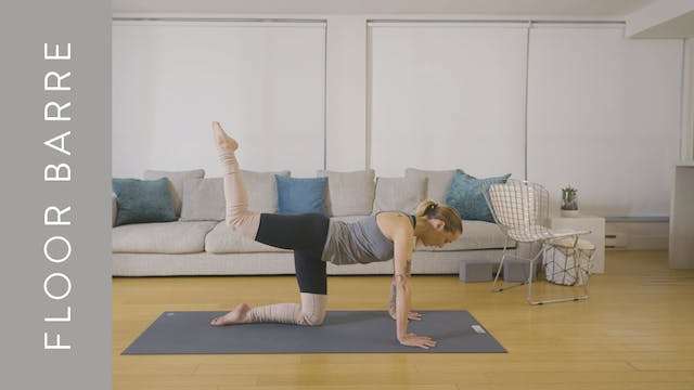 Floor Barre: Glute Love (15 min) — wi...