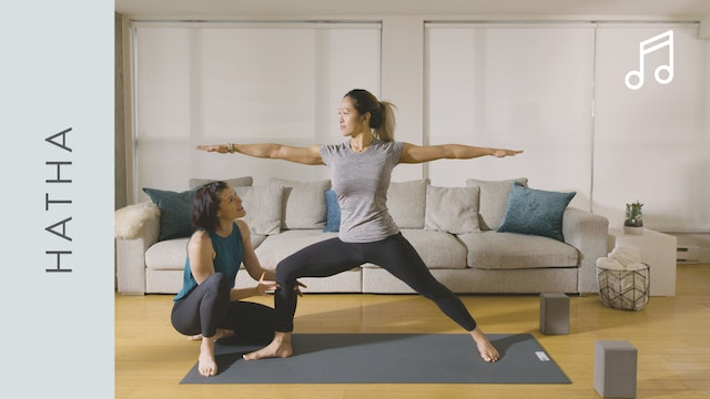 Hatha Yoga for Beginners (40 min) – with Rachel Scott [WITH MUSIC]