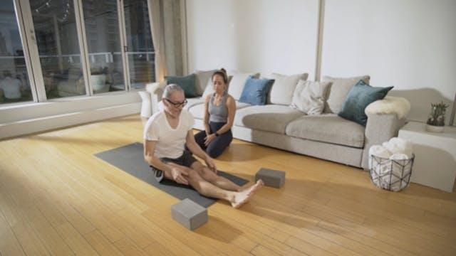 Power Yoga: Intermediate (60 min) — w...