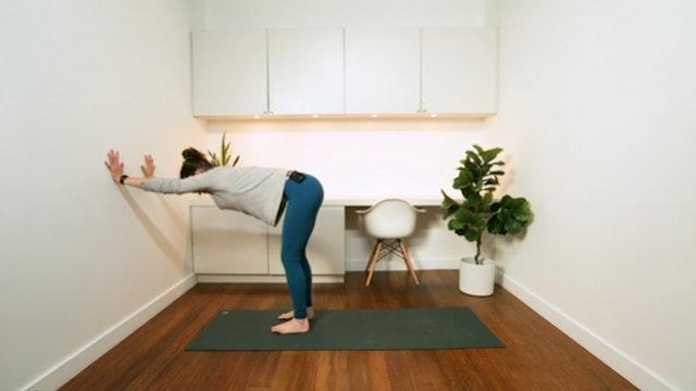 Work from Home Yoga Break (5 mins) — with Rachel Scott
