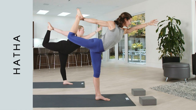 Hip Opening Hatha (30 min) - with Katherine Moore