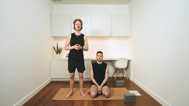 Modified Ashtanga Primary Series I (60 min) - with Connor Roff