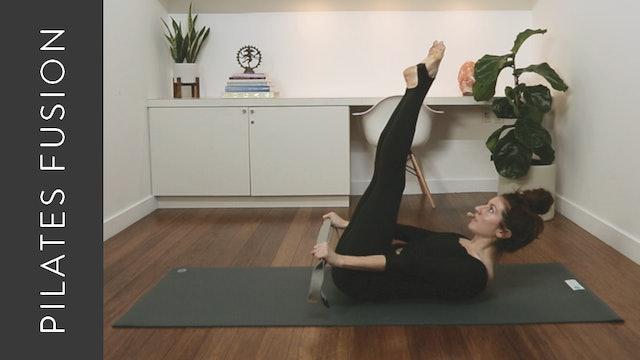Pilates Fusion: Intermediate Total Body (30 min) — with Krystina Simes