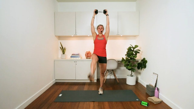 Interval Cardio & Core Workout (22 min) - with Hana Weinwurm