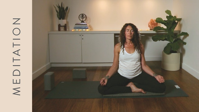 Meditation for Stress (10 min) — with Shelley Tomczyk