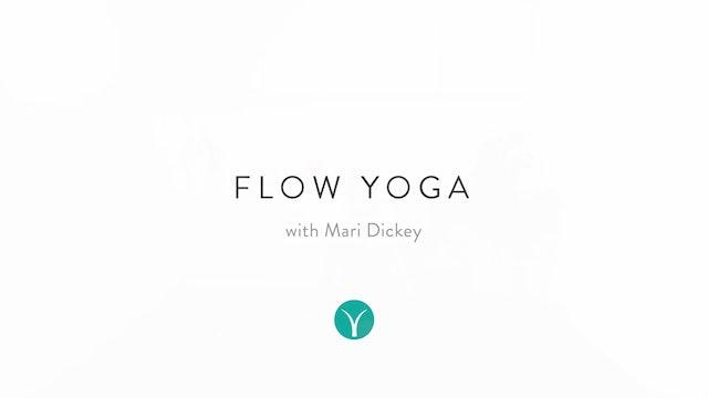 Heart & Hips Feel-Good Flow (30 min) - with Mari Dickey
