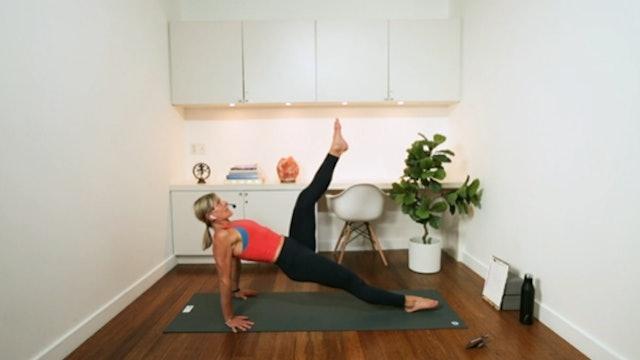 Express Pilates Core (20 min) - with Hana Weinwurm