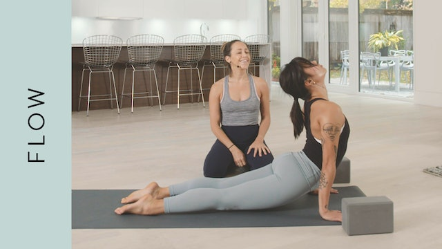 Flow Yoga: Upper Back Love (50 min) — with Mari Dickey [with Music]
