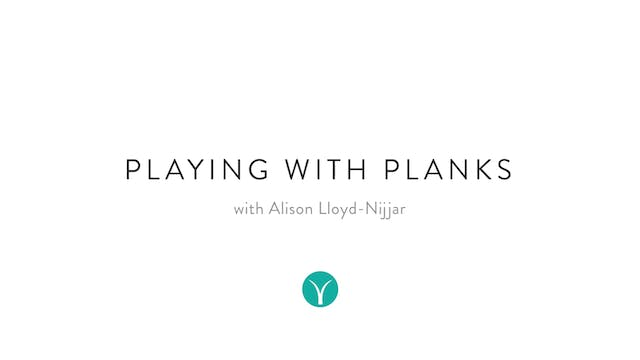 10 Minute Tone: Playing with Planks (...