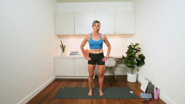 Pilates Tone & Burn (40 min) - with Hana Weinwurm