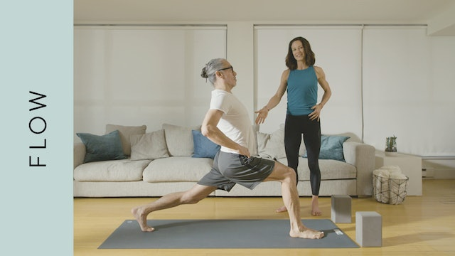 Flow Yoga: Daily Maintenance for Runners (10 min) — with Katherine Moore