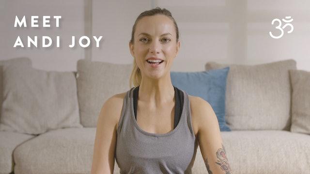 Meet Andi Joy Harvey