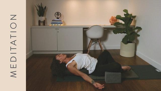 Meditation for Sleep (10 min) — with Shelley Tomczyk