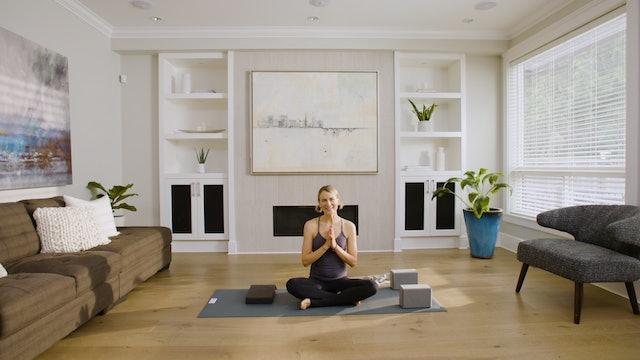 Live Stream Yin & Meditation (60 min) - with Lisa Sanson