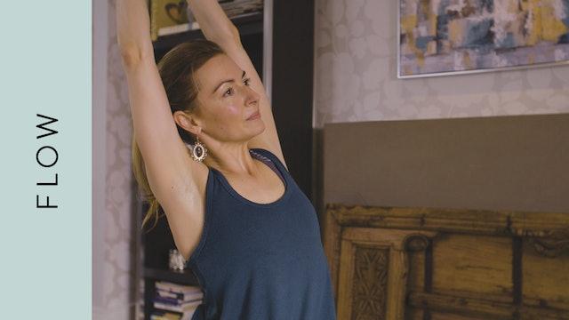 Flow Yoga (40 min) — with Jayme Burke