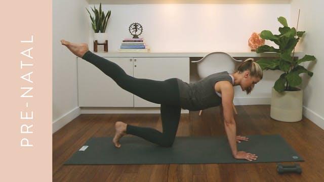 Pre-natal Pilates: Full Body Workout ...