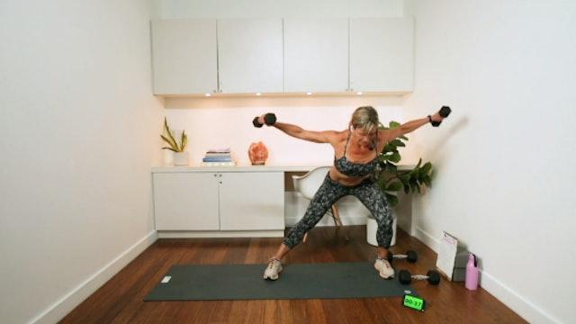 Strength & Cardio (32 min) - with Hana Weinwurm