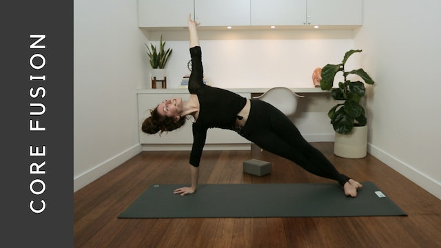Live Replay: Pilates Core Fusion (60 min) - with Krystina Simes