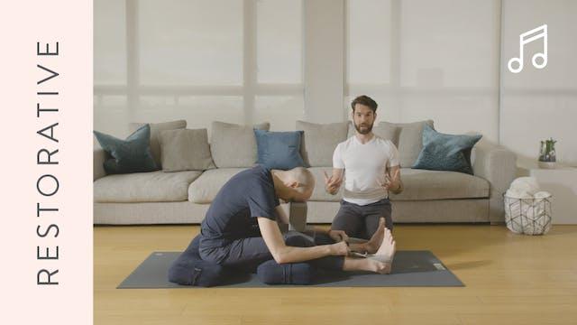 Restorative Yoga (20 min) — with Juan...