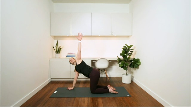 Smooth & Steady Pilates Flow (45 min) - with Alison Lloyd-Nijjar