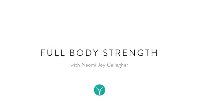 Full Body Strength (35 min) - with Na...