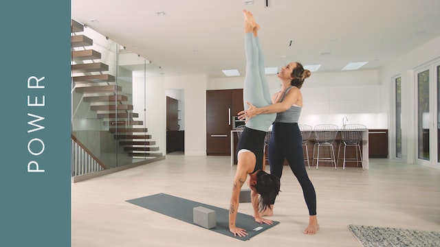 Power Yoga: Upside Down Power Inversions (60 min) — with Mari Dickey