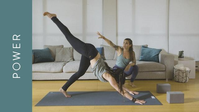 Power Yoga (20 min) — with Crystal Rainbow Borrelli