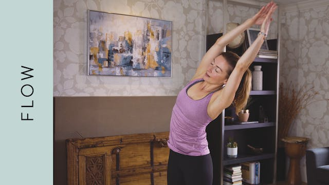 Flow Yoga (20 min) — with Jayme Burke