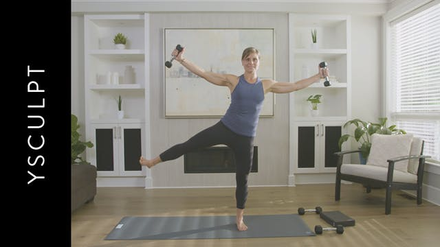 YSculpt for Beginners (45 min) — with...