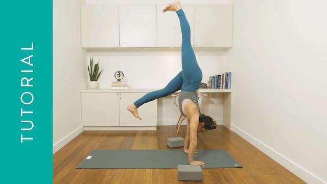 Tutorial: Handstand Prep (10 min) — w...