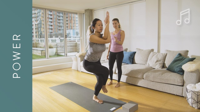 Power Yoga: Sweaty and Energizing (20 min) — with Jayme Burke [WITH MUSIC]